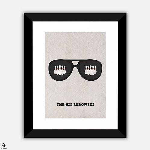 The Big Lebowski Minimalist Framed Print