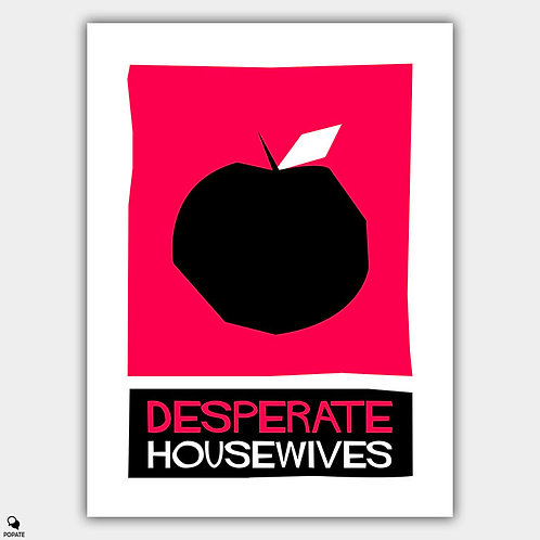 Desperate Housewives Saul Bass Style Alternative Poster