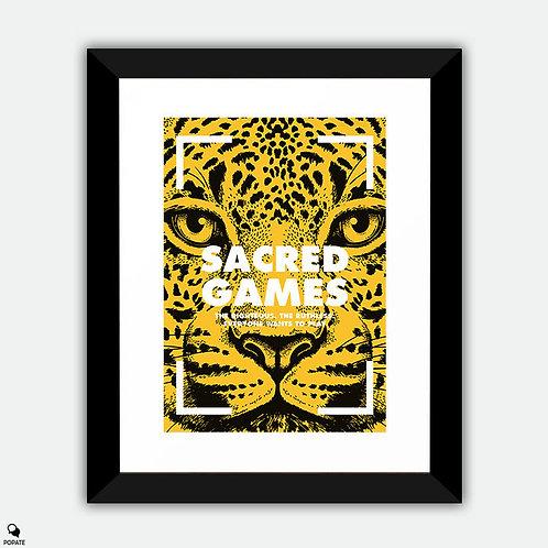 Sacred Games Alternative Framed Print