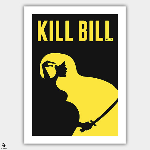 Kill Bill Minimalist Poster - The Whole Bloody Affair