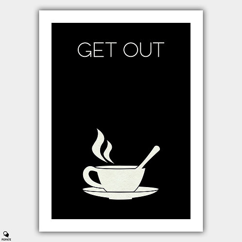 Get Out Minimalist Poster - Sink Into The Floor