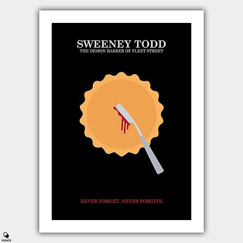 Sweeney Todd: The Demon Barber Of Fleet Street Minimalist Poster