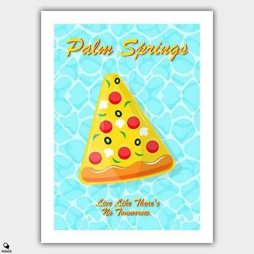 Palm Springs Minimalist Poster