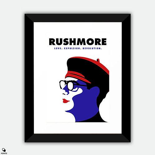 Rushmore Minimalist Framed Print