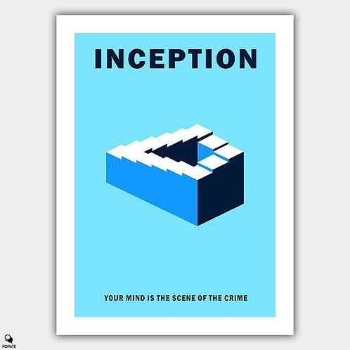 Inception Minimalist Poster - Paradox