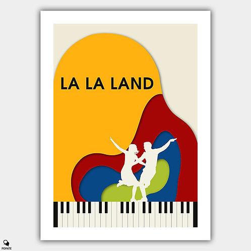 La La Land Minimalist Poster - Summer Montage