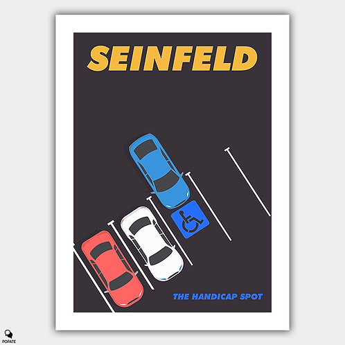 Seinfeld Alternative Poster - The Parking Space