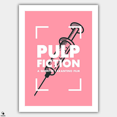 Pulp Fiction Alternative Poster - Adrenaline