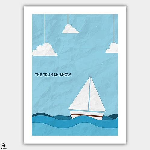 The Truman Show Minimalist Poster