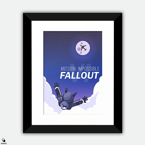 Mission Impossible Fallout Alternative Framed Print