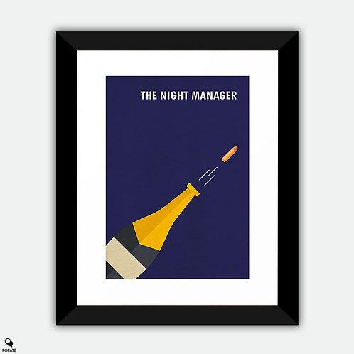 The Night Manager Alternative Framed Print