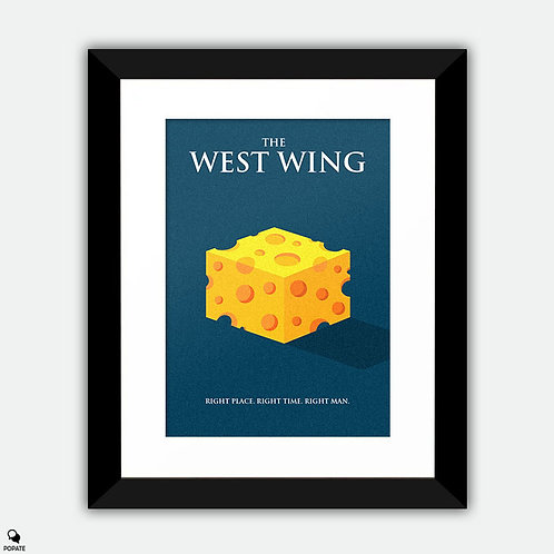 The West Wing Minimalist Framed Print