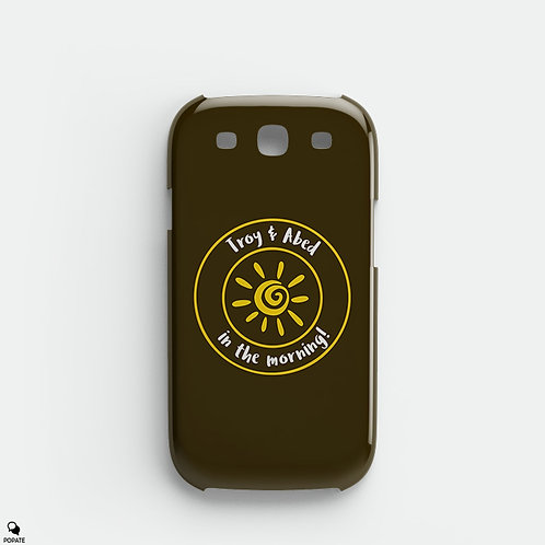 Troy and Abed in the Morning Alternative Galaxy Phone Case from Community