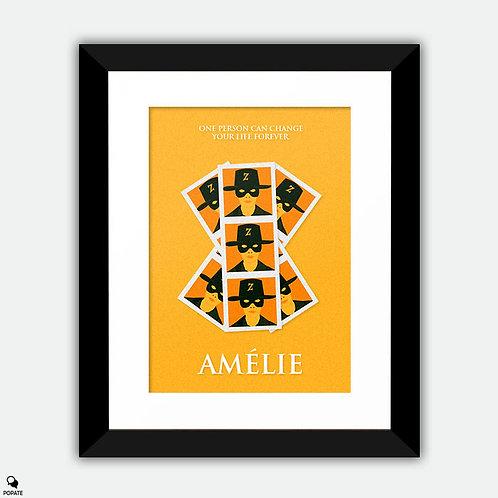 Amélie Minimalist Framed Print