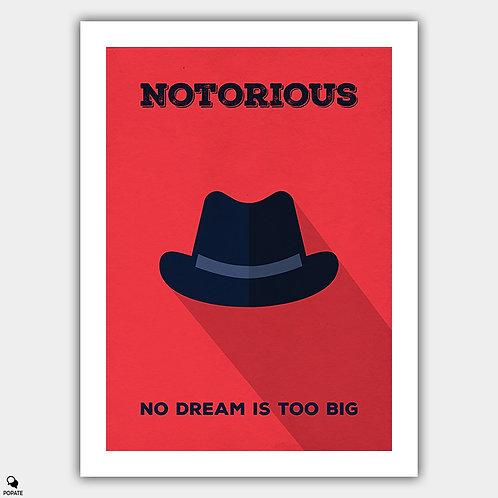 Notorious Minimalist Poster