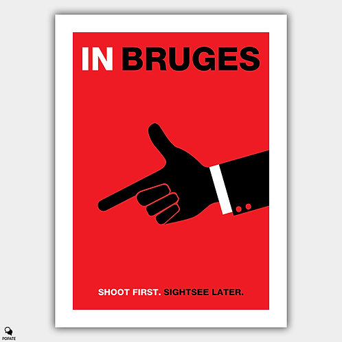 In Bruges Minimalist Poster