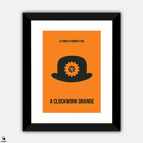 A Clockwork Orange Minimalist Framed Print