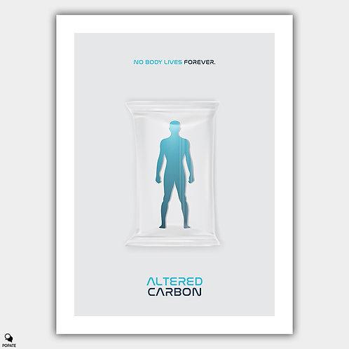 Altered Carbon Minimal Alternative Poster