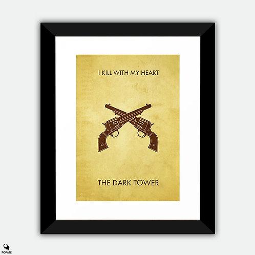 The Dark Tower Minimalist Framed Print