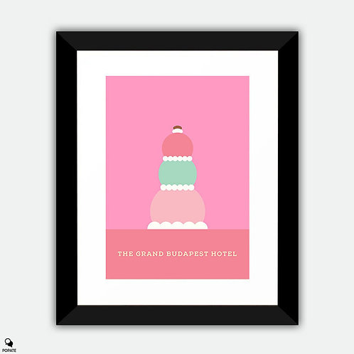 The Grand Budapest Hotel Minimalist Framed Print