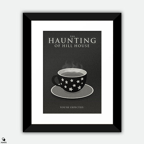 The Haunting of Hill House Alternative Framed Print - Cup of Stars