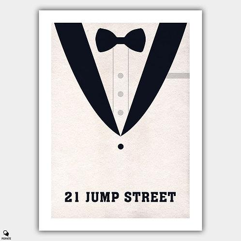 21 Jump Street Minimalist Poster