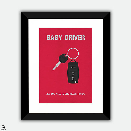 Baby Driver Alternative Poster - Car Key