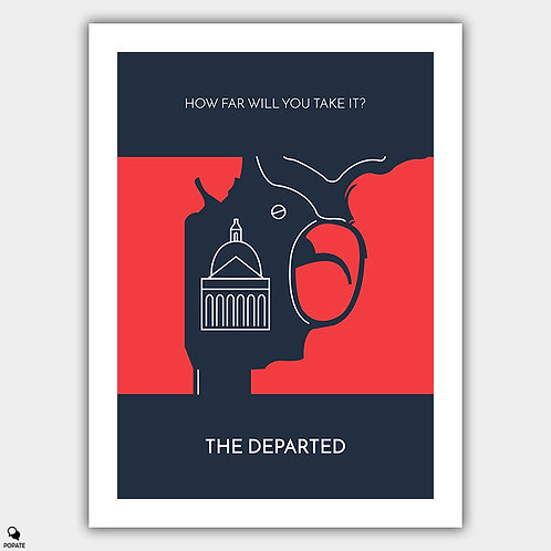 The Departed Minimalist Poster - State House