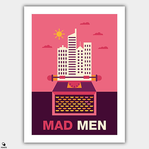 Mad Men Minimalist Alternative Poster - Advertising