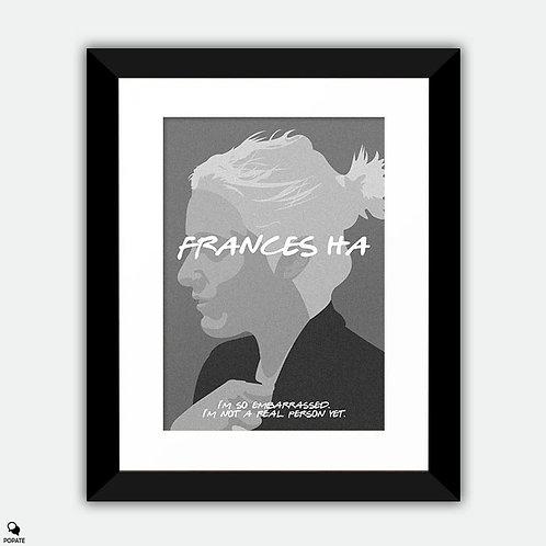 Frances Ha Minimalist Framed Print