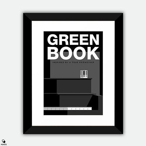 Green Book Alternative Framed Print