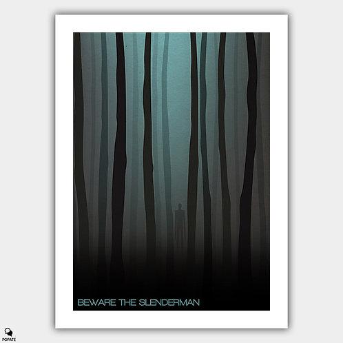 Beware The Slenderman Alternative Poster