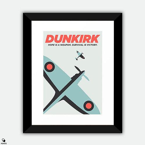 Dunkirk Minimalist Framed Print - Hope