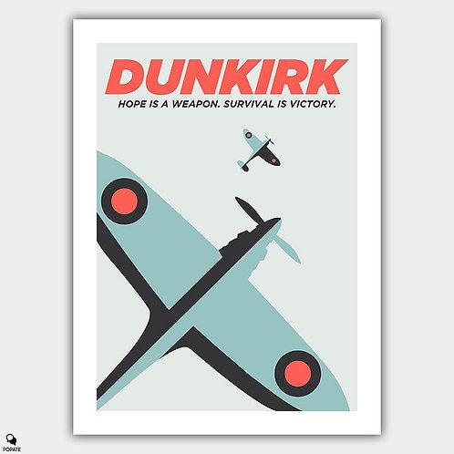 Dunkirk Minimalist Poster - Hope