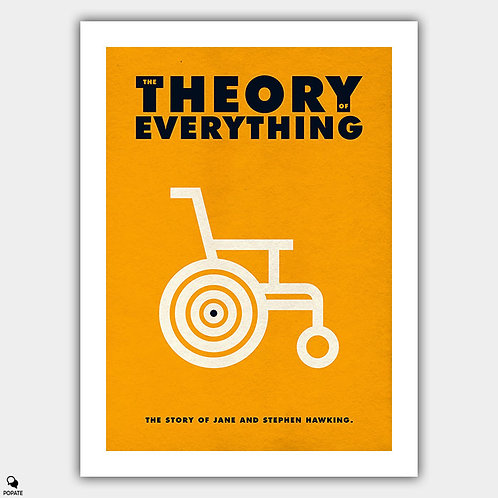 The Theory of Everything Minimalist Poster