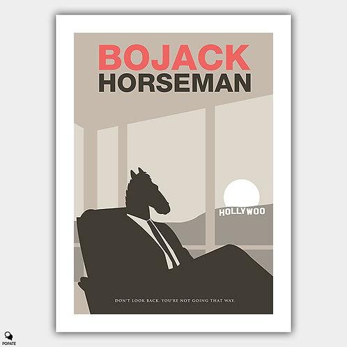 BoJack Horseman Alternative Minimalist Poster