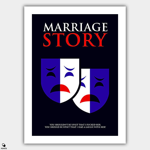 Marriage Story Minimalist Poster