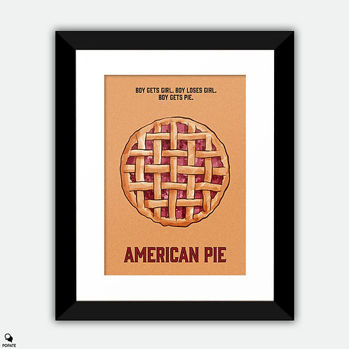 American Pie Alternative Framed Print