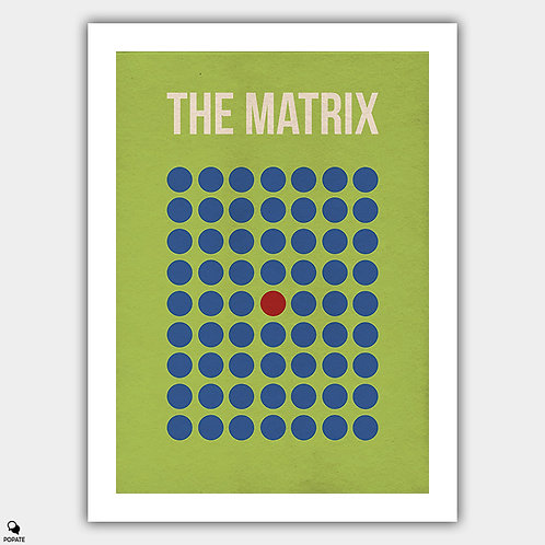 The Matrix Minimalist Alternative Poster