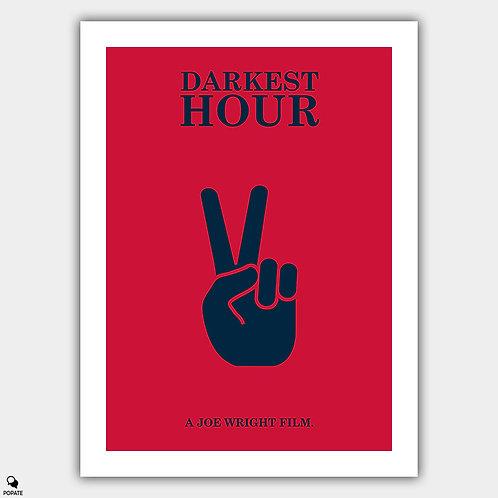 Darkest Hour Minimalist Poster