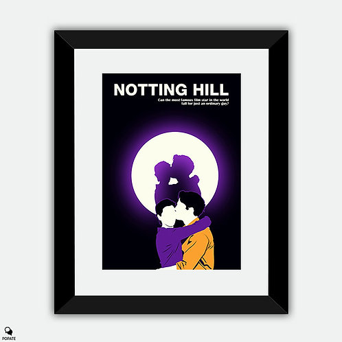 Notting Hill Minimalist Framed Print