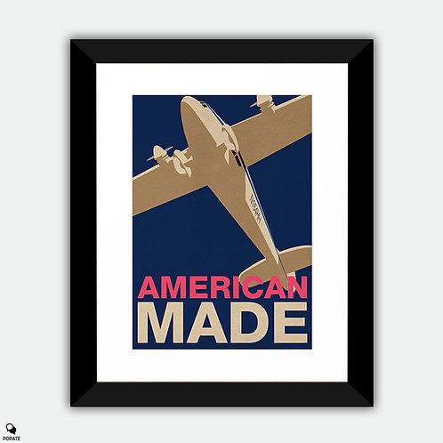American Made Vintage Alternative Framed Print