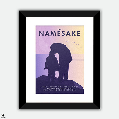 The Namesake Alternative Framed Print