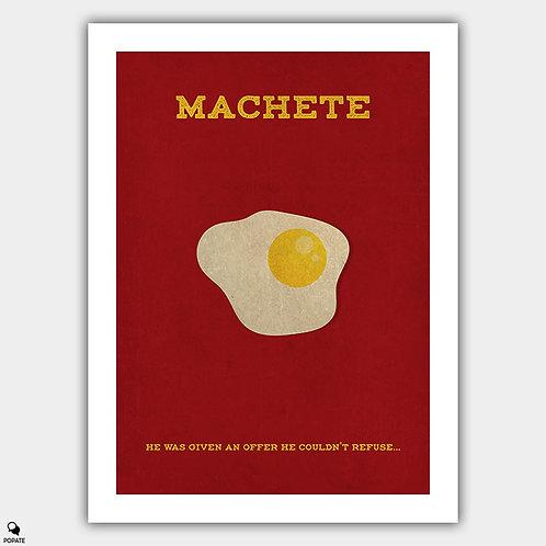 Machete Minimalist Poster