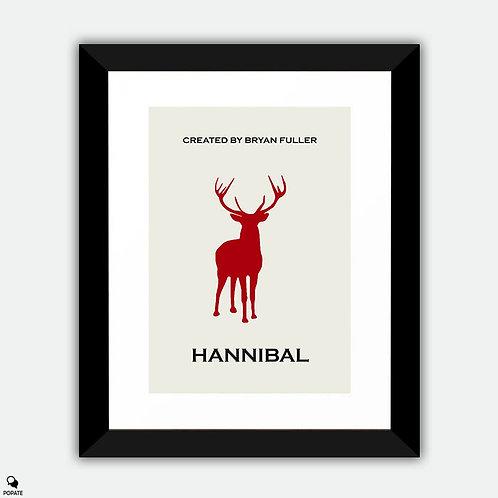 Hannibal Minimalist Framed Print