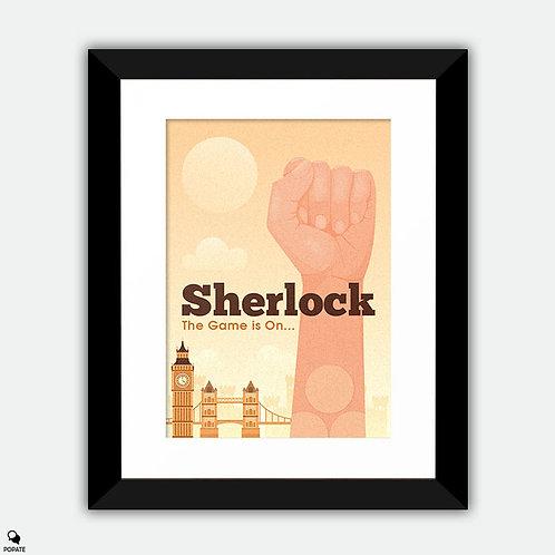 Sherlock Alternative Framed Print - Three Patch Problem