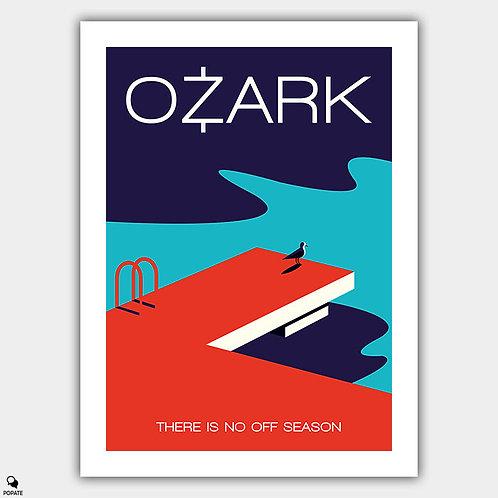 Ozark Minimalist Poster - Off Season