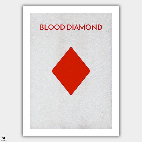 Blood Diamond Minimalist Poster