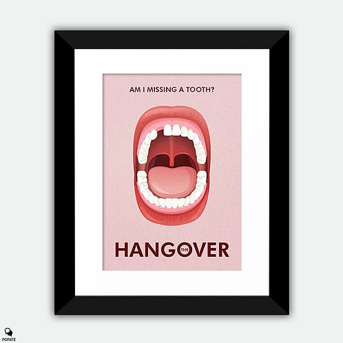 The Hangover Alternative Framed Print - Lateral Incisor