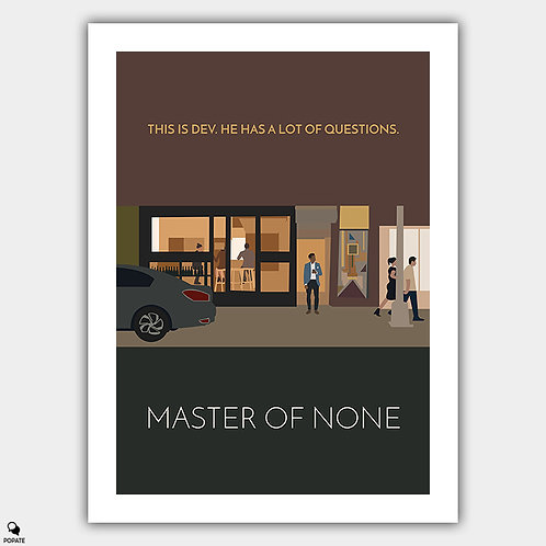Master Of None Minimalist Poster